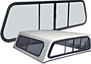 Replacement Rear Window for Truck Cap/Topper