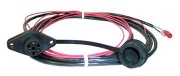 Warn 6ft Remote Wiring Harnet & Socket Spade Terminal