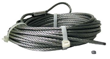 """Warn Replacement Cable For Aluminum Drum 3/16"""" X 50'"""