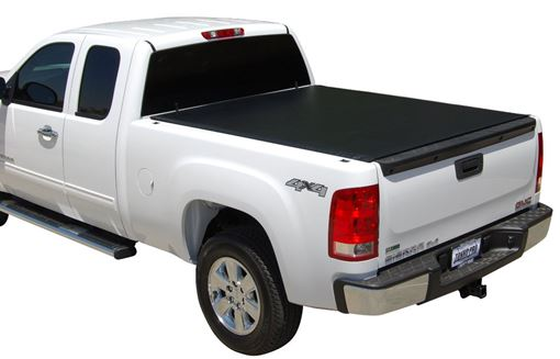 Tonno Pro LR-3065 Lo-Roll Black Roll-Up Truck Bed Tonneau Cover 1973-1996 Ford F-150 Fits 6.5 Bed 1973-1998 F-250