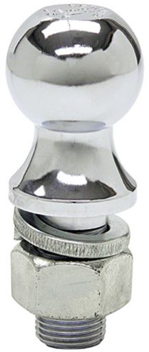 "Picture of 1-7/8"" Chrome Trailer Hitch Ball 