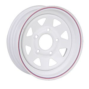 """Picture of 10"""" Wheel 5 Hole Painted"""