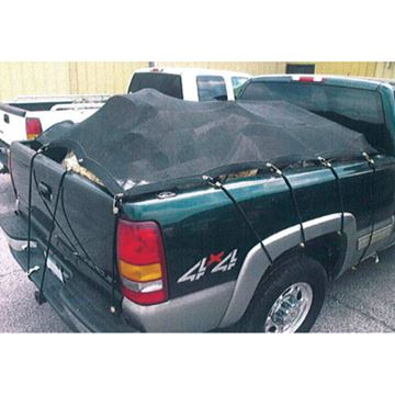 Picture of 10' X 12' H.D Mesh Tarp Black