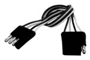 """Picture of 12"""" 4 Wire Flat Extension"""