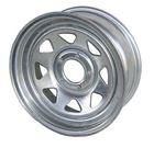 "Picture of 15"" Galvanized Wheel 5 Hole"