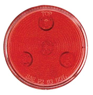 "2-1/2"" Led Marker/Clearance Light Red"