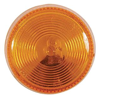 "2.5"" Round Clearance Light Amber"