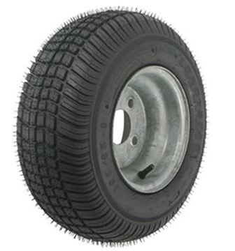 Picture of 205/65-10 Tire & Wheel (B) 4 Hole / Galvanized