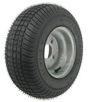 Picture of 205/65-10 Tire & Wheel (C) 4 Hole / Galvanized