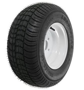 Picture of 205/65-10 Tire & Wheel (C) 5 Hole / White