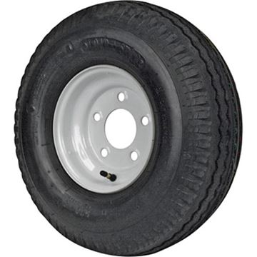 Picture of 215/60-8 Tire & Wheel (C) 5 Hole Galvanized