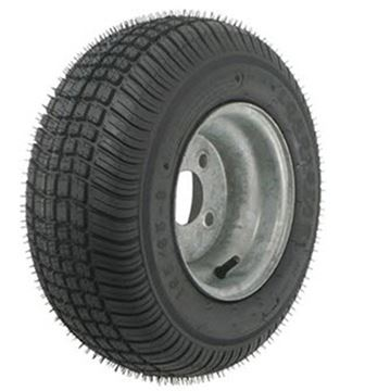 Picture of 215/60-8 Tire & Wheel 4 Hole (B) Galvanized