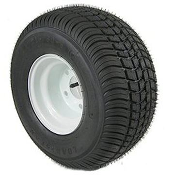 Picture of 215/60-8 Tire & Wheel 5 Hole (B) White