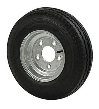Picture of 480 X 8 (C) Tire And Wheel 4 Hole Galvanized