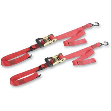 Picture of Big Bike Gradual Release Ratchet Strap Red