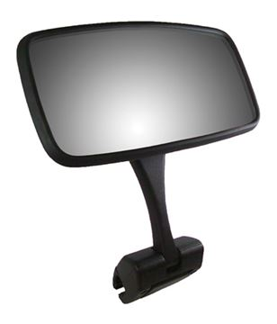 Comp Mirror With Deluxe Cast Aluminum Mounting Bracket