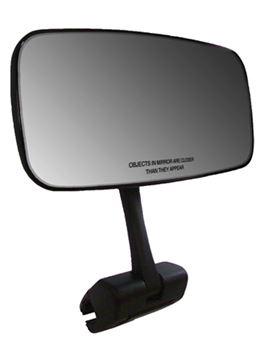 Comp Universal Mirror W/Deluxecast Aluminum Mounting Bracket