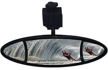 Ellipse Mirror With High Strength Composite Bracket
