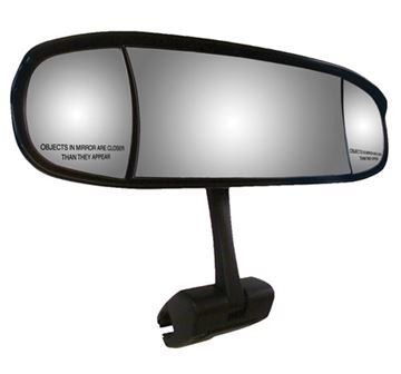Extreme Mirror With Deluxe Cast Aluminum Mounting Bracket
