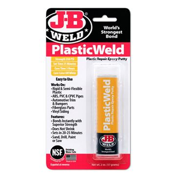Picture of J-B Weld Kwik Plastic Epoxy Stick