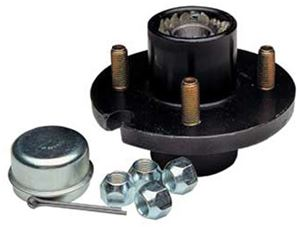 """Picture of Trailer Hub Kit 1-1/16"""" 4 Hole"""