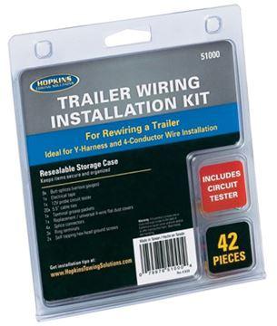 Trailer Wiring Kit 42 Pcs.