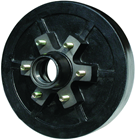 "Picture of 12"" Brake Drum Hub 6 Studs"