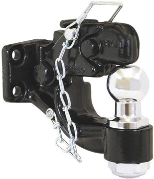 "Picture of Pintle Hook with 1 7/8"" Ball"