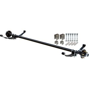 Picture of Complete Axle Kit, 2000 Lb., 60 in. Hubface, 48 in. Spring Center, 4 Bolt Pattern, 4 in. Hubs