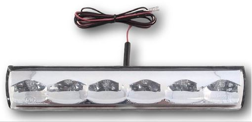 Surface Mount 3rd Brake Light, Clear | ATC AT-LED-36R-01R