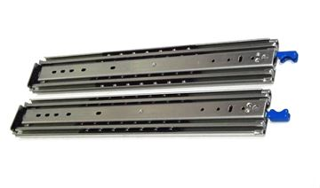 Heavy Duty Locking Drawer Slides, 48 inch, 500 lbs Capacity