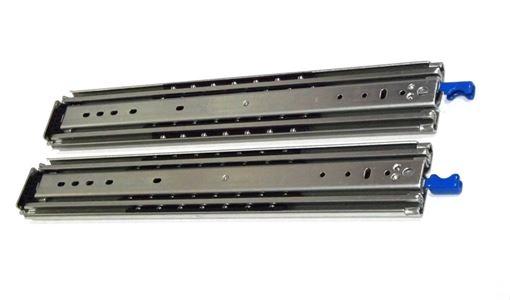 Heavy Duty Locking Drawer Slides, 18 inch, 500 lbs Capacity