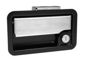 Picture of Rotary Paddle Lock, Zinc Plated Receptable, Stainless Steel Paddle | Eberhard 9600-PK-33