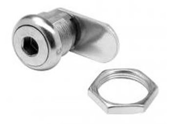 Tool-Operated Cam Lock, Hex, Quarter Turn, Low Profile | Eberhard 521-XA-11