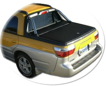 Picture of Subaru Baja Tonneau Cover - Extended Strike Plate