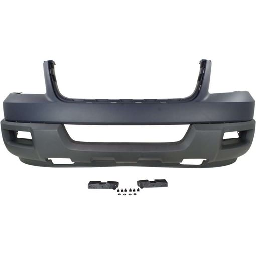 Front, Lower Bumper Cover Replacement Bumper Cover-Unprimed, Plastic, Replacement F010306