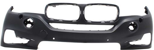 Bumper Cover, X5 14-18 Front Bumper Cover, Prmd, W/O M Sport Pkg, W/ Hlw Holes, W/O Ipas Holes/Night Vision/Surround View, Replacement RB01030020P