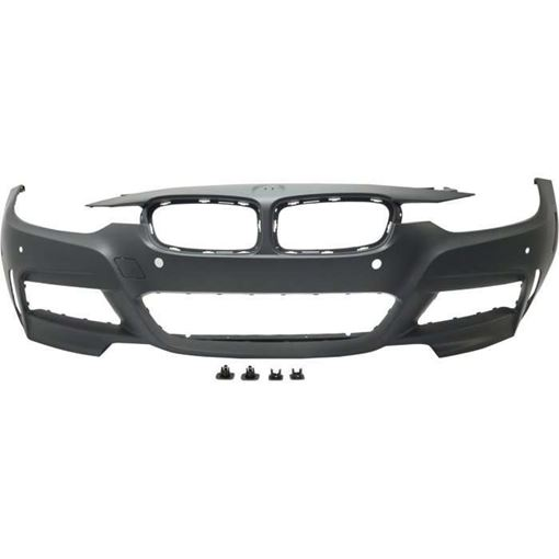 BMW Front Bumper Cover-Primed, Plastic, Replacement RB01030066P