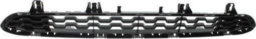 BMW Center, Upper Bumper Grille-Paint to Match, Plastic, Replacement RB01530011