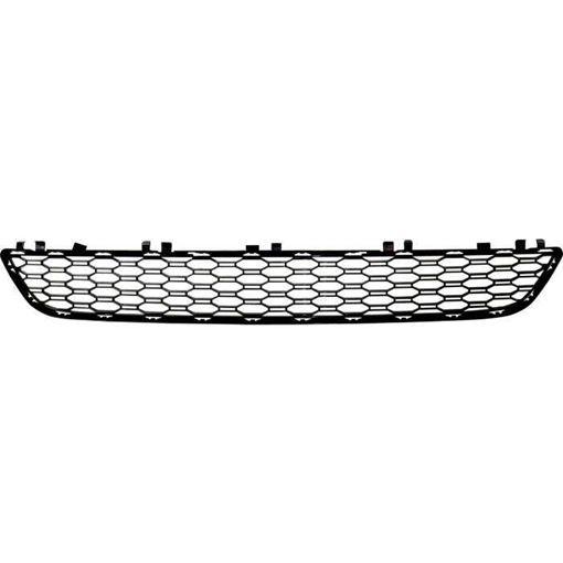 BMW Bumper Grille-Black, Plastic, Replacement RB01530012