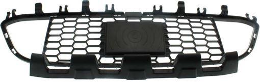 BMW Center Bumper Grille-Black, Plastic, Replacement RB01530019