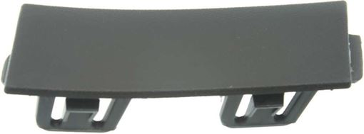 Mercedes Benz Front, Driver Side Bumper Trim-Textured, Replacement RB01610004