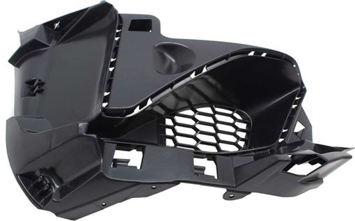 BMW Front, Passenger Side Bumper Retainer-Black, Plastic, Replacement RB01910003