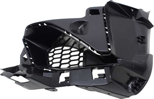 BMW Front, Driver Side Bumper Retainer-Black, Plastic, Replacement RB01910004