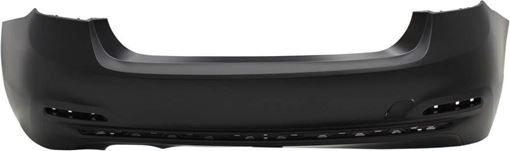 BMW Rear Bumper Cover-Primed, Plastic, Replacement RB76010020PQ