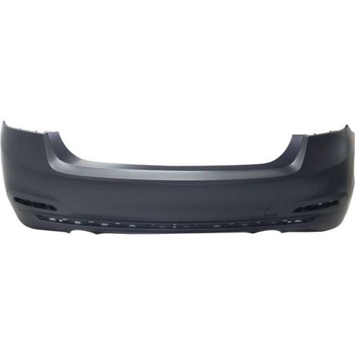 BMW Rear Bumper Cover-Primed, Plastic, Replacement RB76010033P