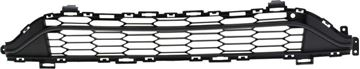 Replacement Bumper Grille Replacement Bumper Grille-Black, Plastic | Replacement RC01530006Q