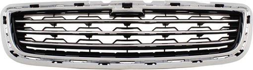 Chevrolet Bumper Grille-Textured Black, Plastic, Replacement RC01530008