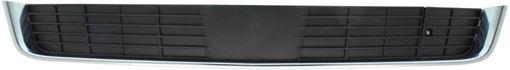 Cadillac Bumper Grille-Black, Plastic, Replacement RC01530010