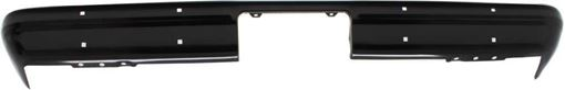 Rear Bumper Replacement Bumper-Painted Black, Steel, Replacement RC76090001
